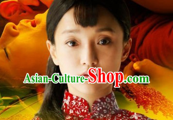 Chinese Traditional Mandarin Blouse Clothes for Women