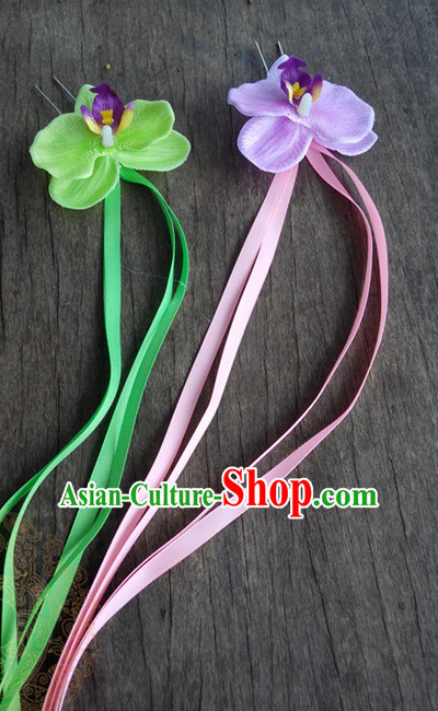 Handmade Asian Hair Accessories Barrettes Hairpin Hair Sticks Hair Jewellery Hairpins