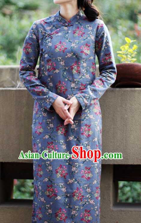 Chinese Traditional Mandarin Garment for Women