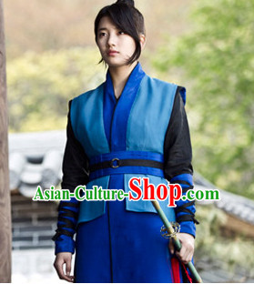 Handmade Chinese Knight Wigs for Men or Women