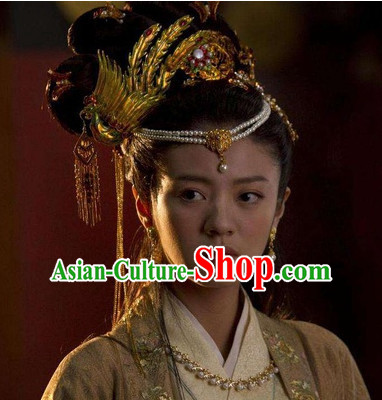 Handmade Chinese Palace Beauty Phoenix Hair Accessories Hair Ornaments