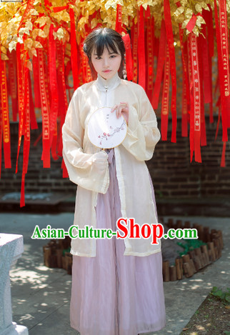 Ancient Chinese Song Dynasty Clothing for Ladies
