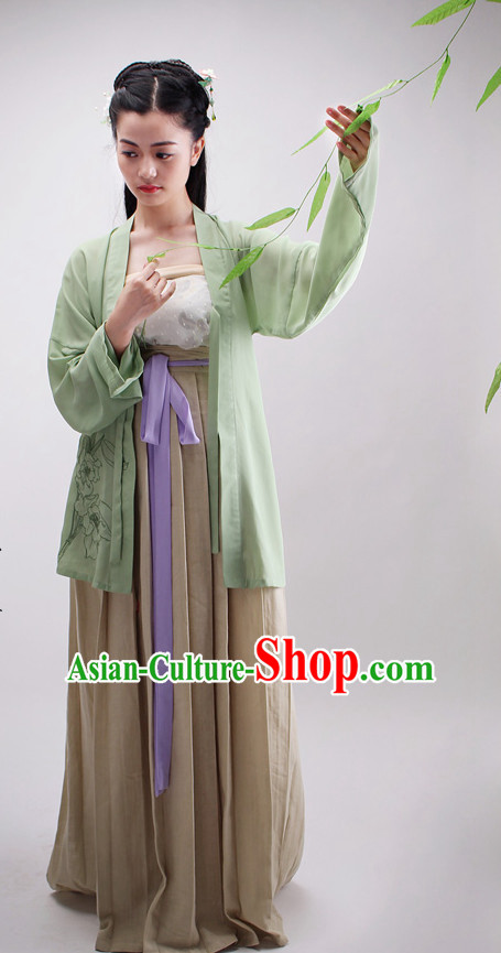 Ancient Chinese Clothing and Skirt Complete Set for Women