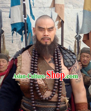 Ancient Chinese Kung Fu Monk Costumes for Men