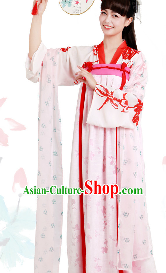 Ancient Chinese Female Garment Complete Set