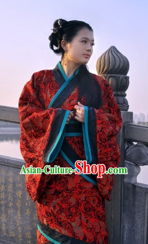 China Ancient Cultural Garment Hanfu Clothes for Women