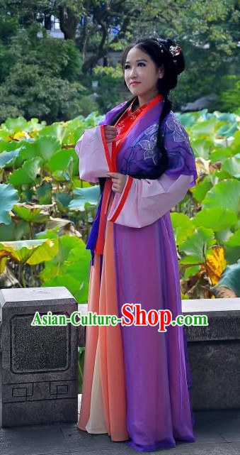 China Ancient Cultural Garment Hanfu Clothes Suits for Women