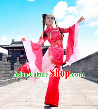 China Folk Classical Dance Costumes for Women