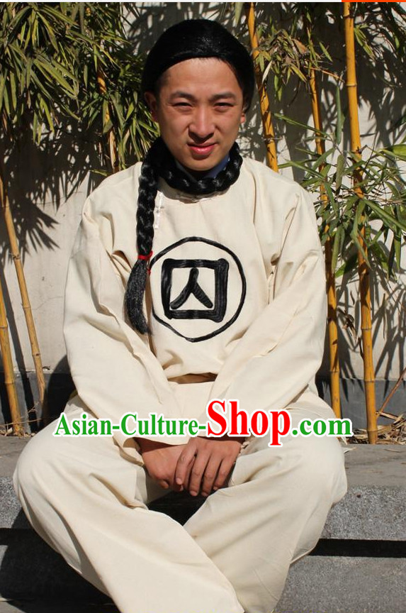 Ancient Chinese Prisoner Costumes for Men