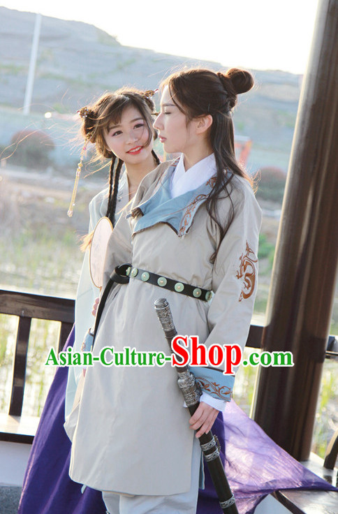 Chinese Ancient Swords Player Costumes