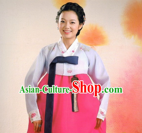 Asia Fashion Korean Tops Korean Suits Korean Jacket Han Bok Suit for Ladies
