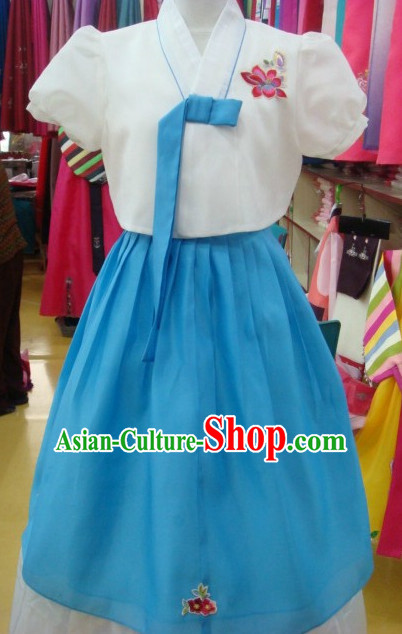 Korean Traditional Hanbok Suit for Girls