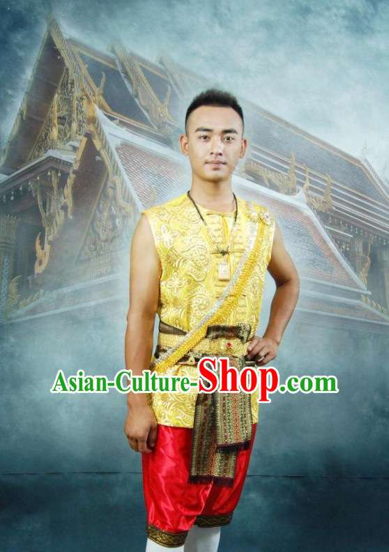 Thailand Clothing Dresses and Pants Complete Set for Men