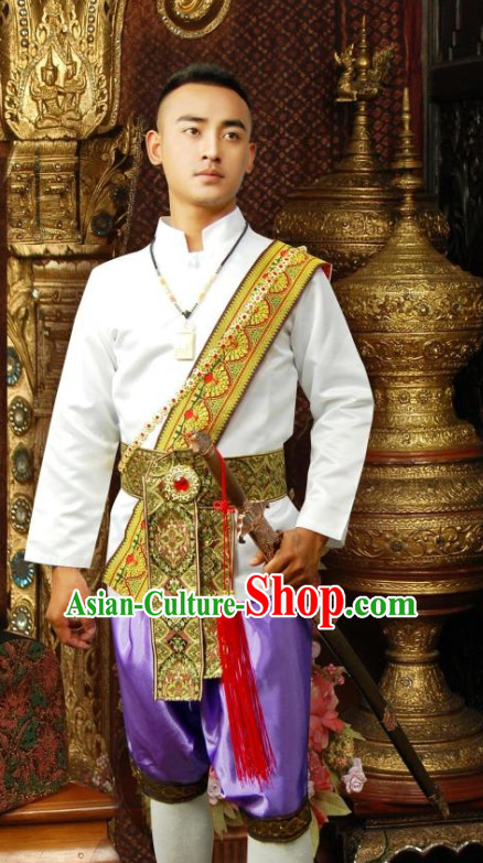 Thailand Traditional Clothing Outfit for Men