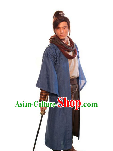 Asian Classic Swordman Costume