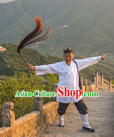 White Taoist Meditation Suit for Men