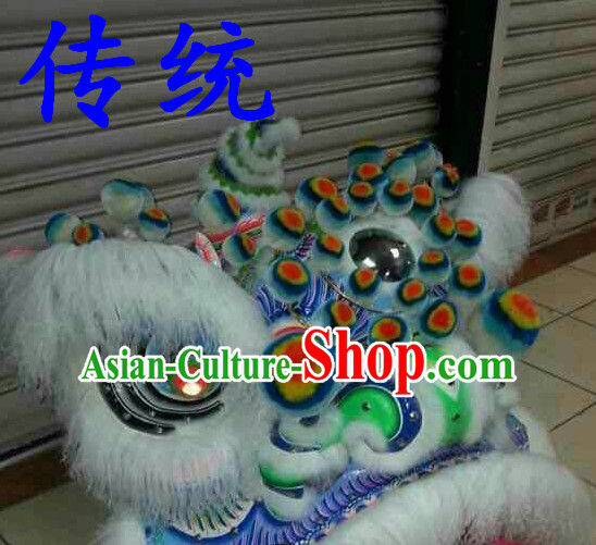 Classic Fut San Lion Dance Equipment Complete Set
