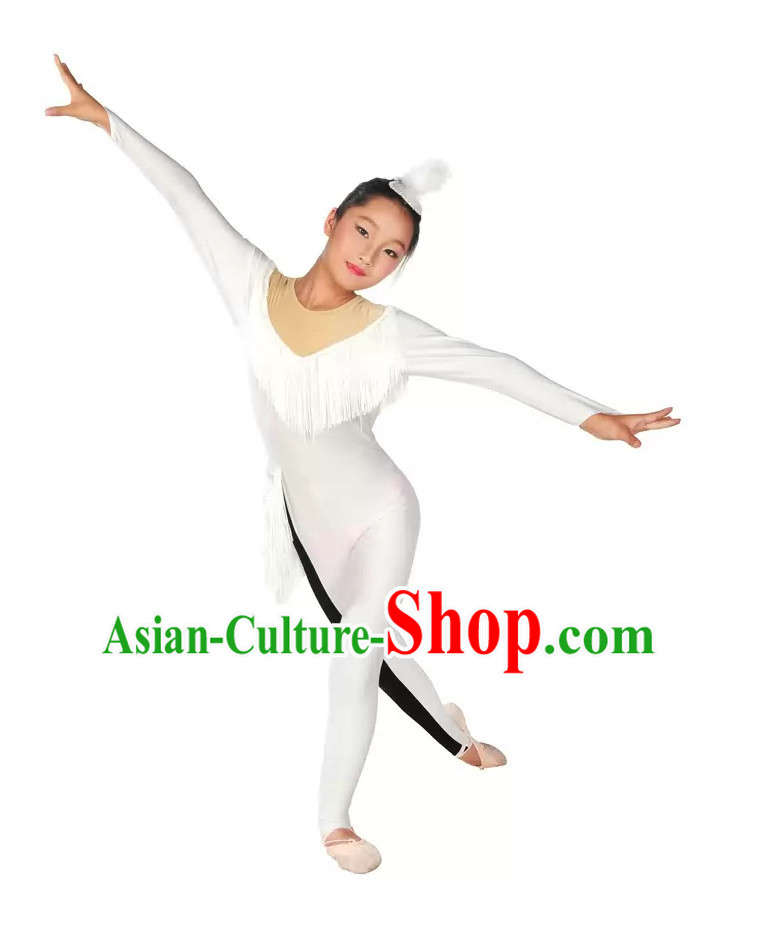 Chinese Style Gymnastics Leotards Dance Outfit
