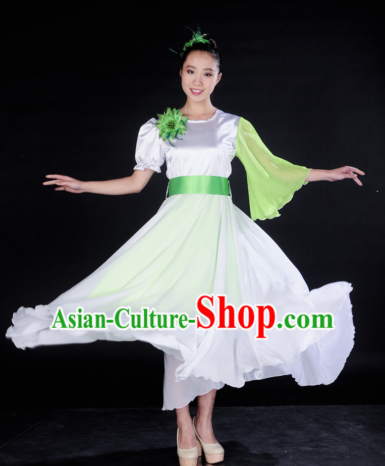 Asian Mandarin Singing Group Costume Chorus Uniform for Women