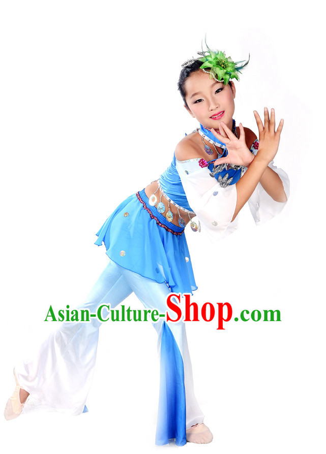 Folk Dance Costumes and Headpieces for Kids.