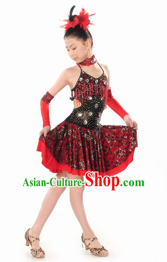 Latin Dance Costume for Kids