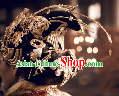 Ancient Empress Queen Hair Jewelry Set