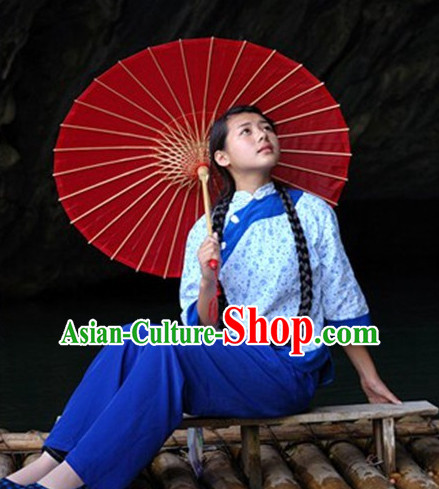 Traditional Chinese Hakka Girl Clothes
