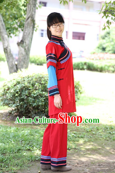 Traditional Hakka Dresses for Girls and Women