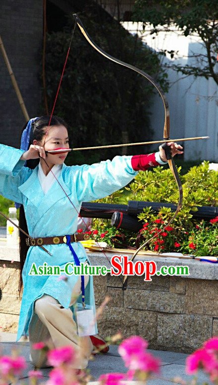 Ancient Asian Archer Hanfu Halloween Costume Plus Size Costumes online Shopping