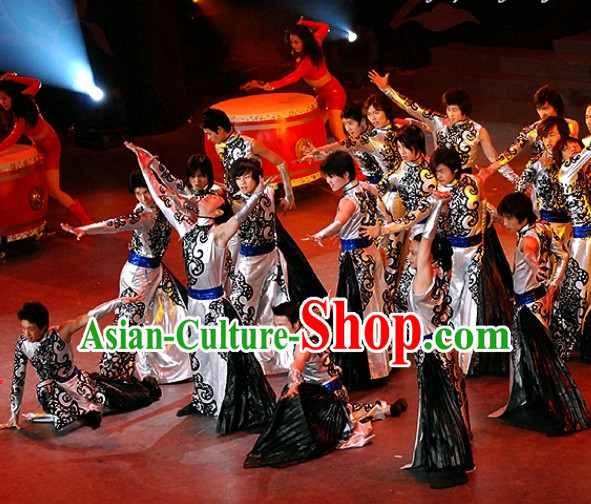 Chinese Group Style Dance Costumes for Men