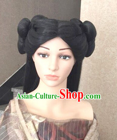 Chinese Ancient Fairy Halloween Lady Wigs