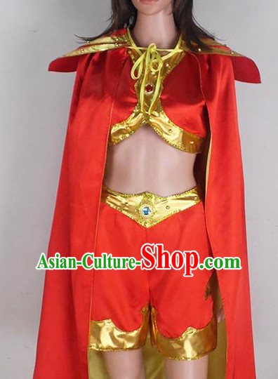 Water Drum Chinese Teenagers Classical Dance Costume for Competition