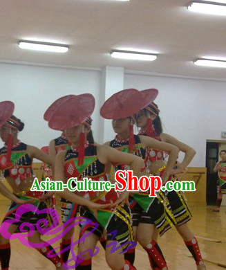 Chinese Ethnic Dance Costumes Dancewear Discount Dane Supply Clubwear Dance Wear China Wholesale Dance Clothes for Women
