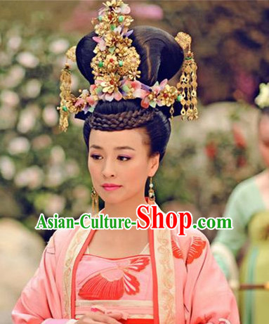 Chinese Handmade Princess Flower Hair Accessories Headband Headbands Fascinators Wedding Hair Clips