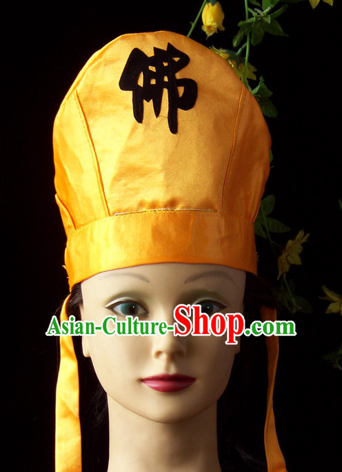 Chinese Stage Performance Buddha Hat
