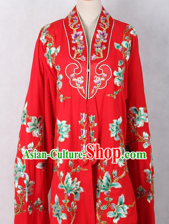 Embroidered Chinese Female Costume Opera Costumes Chinese Clothing Opera Mask Cantonese Opera Chinese Culture Chinese Dance