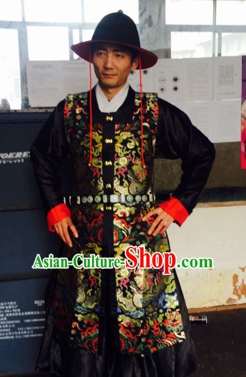 Chinese Ming Dynasty Men Outfit