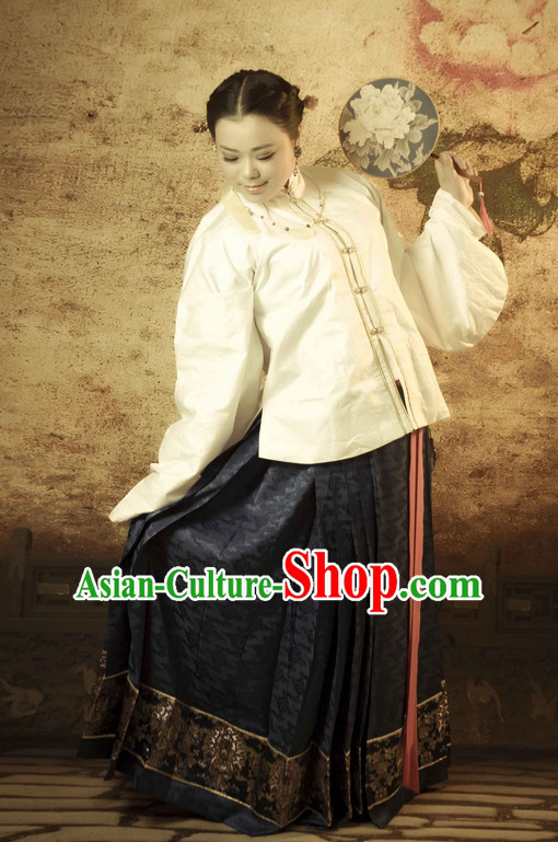 Chinese Ancient Ming Dynasty Clothing for Women