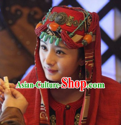 Ancient Chinese Ethnic Princess Hat