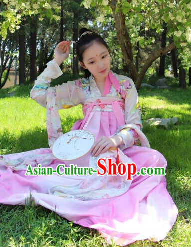 Tang Dynasty Princess Clothes and Hair Accessories for Women