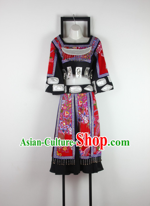 Chinese Minority Dance Costume Discount Dance Gymnastics Leotards Costume Ideas Dancewear Supply Dance Wear Dance Clothes