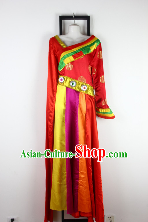 Chinese Tibetan Dance Costume Discount Dance Gymnastics Leotards Costume Ideas Dancewear Supply Dance Wear Dance Clothes
