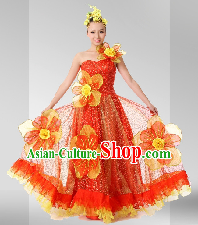 Chinese Stage Celebration Dancewear for Women