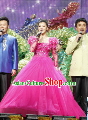 Chinese Evening Dress Party Costume for Women