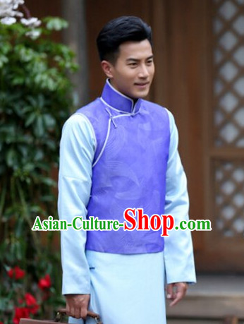 China Minguo Time Gentlemen Long Suit