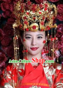 Ancient Chinese Bridal Wedding Crown for Brides