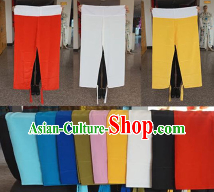 Traditional Chinese Opera Stage Performance Pants