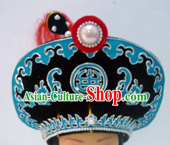 Ancient Chinese Opera Lin Chong Superhero Helmet
