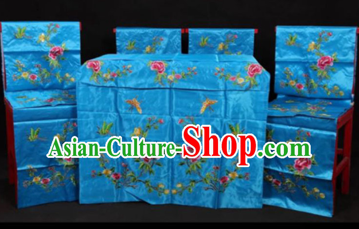 Traditional Chinese Opera Scene Background 10 Pieces Set