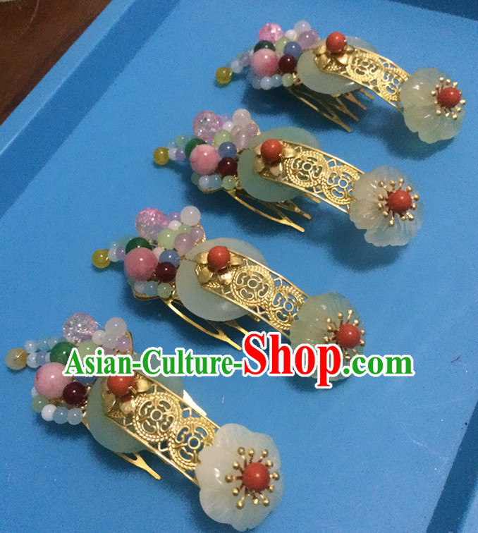 Ancient Chinese Handmade Fairy Princess Superwoman Hair Jewelry Headwear Hair Accessories